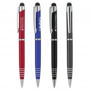 Promotional Product Ballpoint Pen Custom Etched Ring Grip