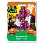 Halloween Bag - Full Color Haunted House Design