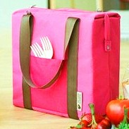 Handle Freezable Cooler Shoulder Insulated Bags