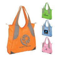 Handles Beach Bag With Durable 600D Bottom