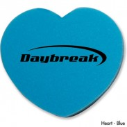 Promotional Die Cut Heart Shaped Eraser
