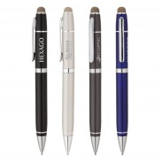 High Quality Durable Conductive Fiber Capacitive Stylus Ballpoint Pen