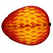 Honeycomb Mango Decoration, 14 Inch