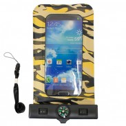 iphone6 waterproof case camouflage with compass