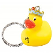 King Rubber Duck Key Chain