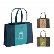 Promotional Sustainable Natural Jute Tote Bag