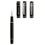 High Quality Leatherette Bettoni Rollerball Pen Custom Logo