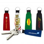 Neoprene Key Chain