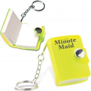 Notepad Key Chain