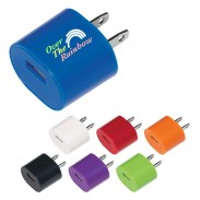 Oval USB A/C Adapter