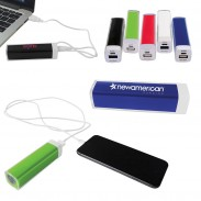 Plastic Mobile Power Bank Charger - UL Certified