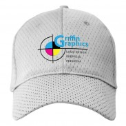 Promotional  Polyester jersey Visors White mesh Sports Cap