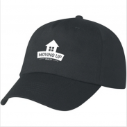 Polyster Screen Printed 5 Panel Structured Promotional Cap
