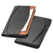 Promo Bonded Lichee Leather Travel Wallet