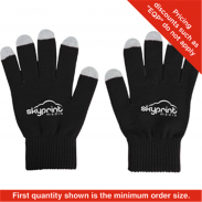Promotional crylic Fibers Touch Screen Gloves