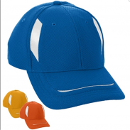 Promotional Polyster Red Augusta Sportswear Adjustable Wicking Mesh Edge Cap (Non-Printed)