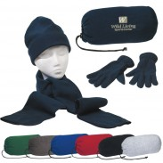 Promotional Polyster Navy Keep Warm Buddy Set