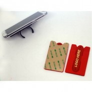 Silicone Phone Wallet Stand