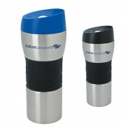 Stainless Tumbler with Grip