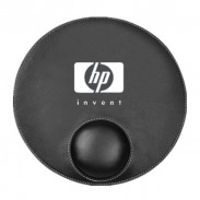 Round Leatherette Mouse Pads
