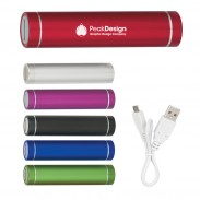 Round Portable Metal Charger