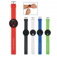 Round Unisex Digital LED Watch