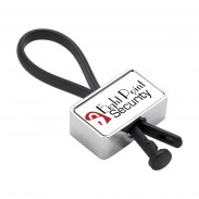 Rubber Loop Key Chain