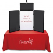 Show 'N' Write Tabletop Display - Economy Kit - 6' - Blank
