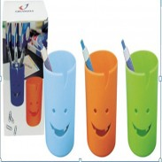 Promos Plastic Smile Face Pen Holder