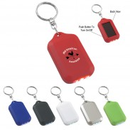 Solar Flashlight Key Chain