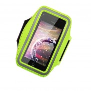 Promotional Convenient PVC Phone Holder Armband with DIY LOGO