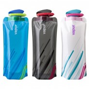 PE Fation Style Outdoor sport Water Bag with three color Blue Black White