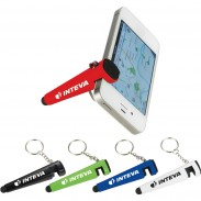 The Taz Phone Holder-Stylus Keychain