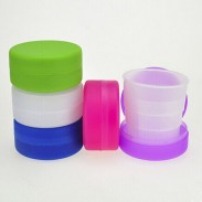 Customized Child Cartoon Extension Cup Convenient Cup Travel Cup Flod Cup