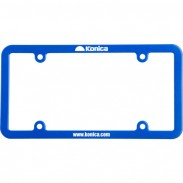 Promotional ABS Car License Plate Holder with LOGO