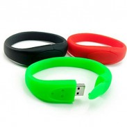 USB Flash Drivers Silicone Wristbands 1/2/4/8/16G