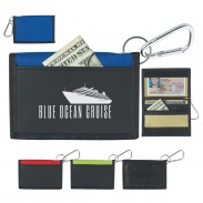Velcro Wallet With Carabiner