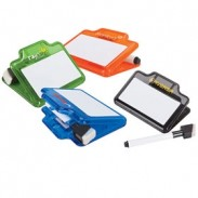 Whiteboard Memo Clip With Dry Erase