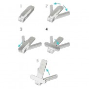 Promotional Multi-function Tri-angle Phone& Media Stands
