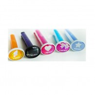 Promotional ABS& PVC Car Air Flasheners Long Clip with DIY LOGO