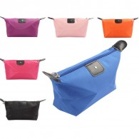 Candy Color Nylon Cosmetic Waterproof Makeup Bag