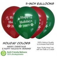 Christmas Happy Holidays Balloon Assortment