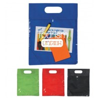 Clear View Non-woven Exhibition Tote Bag