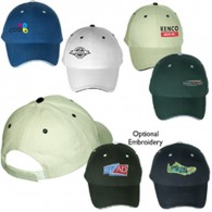 Customized White Cotton Twill Sports Visors Baseball Caps-Sandwich Bill