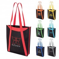 Customized Colored Handles Tote Bag