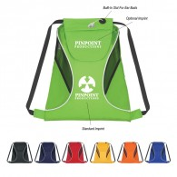 Customized Sports Pack With Mesh Sides