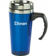 Double Wall Classic Design Stainless Steel Travel Mug (16 Oz.)