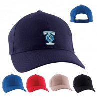 Embroidery 6 Panels Cotton Budget Structured Baseball Cap