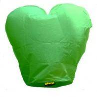 Customized Paper Kongming Lanterns Like Heart with DIY LOGO
