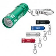 LED Flashlight with Lobster Clip